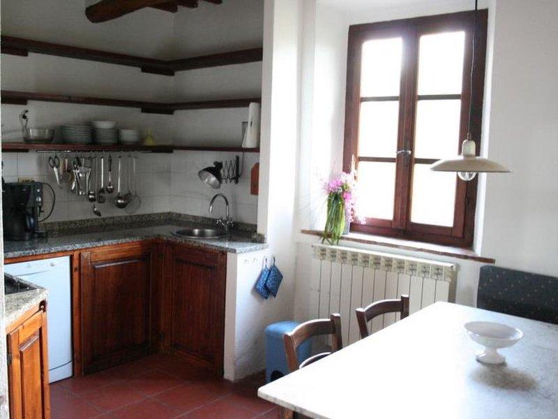 Podere Gli Scopai Wohnung Nr. 4, holiday rental in Giuncarico