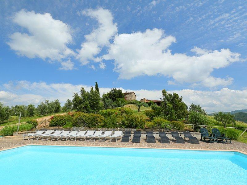 Casa Grande, holiday rental in Montorgiali