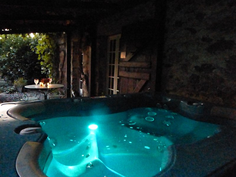 Cottage with hot tub in heart of rural France, vacation rental in Segur-le-Chateau