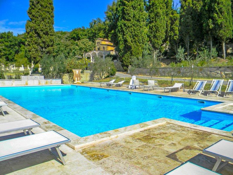 Villa Fontana, location de vacances à Monteverdi Marittimo