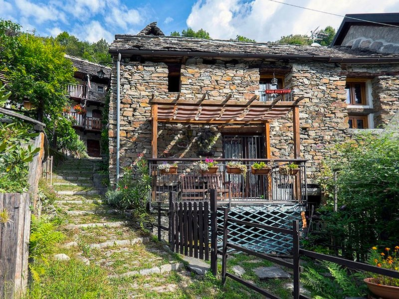 Il Gianlupo, vacation rental in Baceno