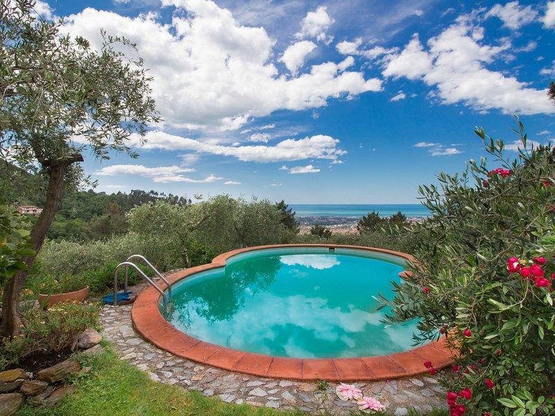 Villa Poggiobello, holiday rental in Miseglia