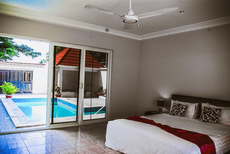 Nian Villa (2.5 bdr) Private Swimming pool, holiday rental in Serekunda