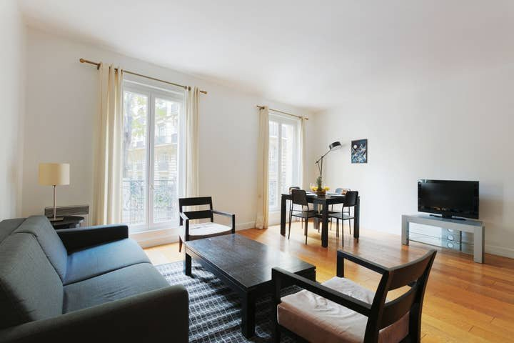 1053. LOVELY 1BR NEXT TO PARC MONCEAU - COURCELLES, vacation rental in Levallois-Perret