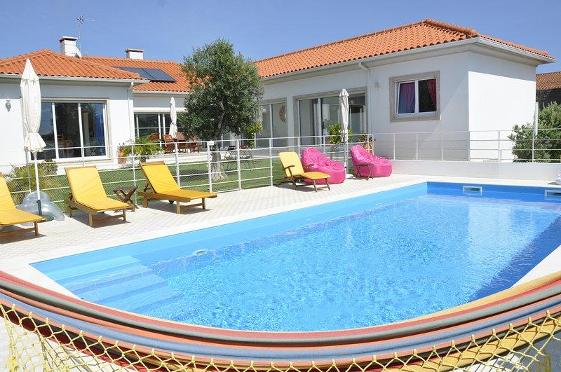 villa' gaivota' 300 m2  avec piscine chauffée,jacuzzi , sauna, alquiler vacacional en Murtosa