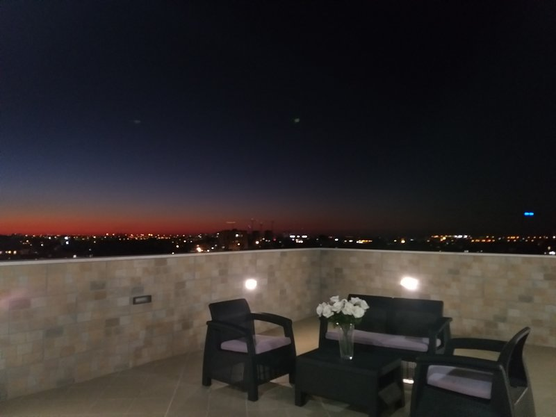 Penthouse in the city, holiday rental in Kefar Uriyya