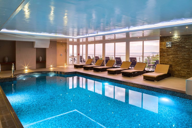 Two person membership to adjacent St. Ives Harbour Hotel Spa and gym included