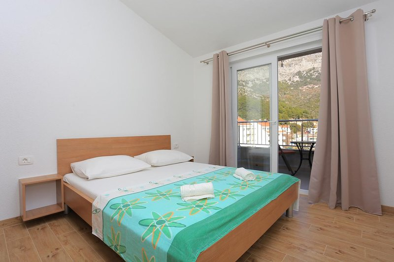 Studio flat Drvenik Donja vala, Makarska (AS-18027-b), casa vacanza a Drvenik