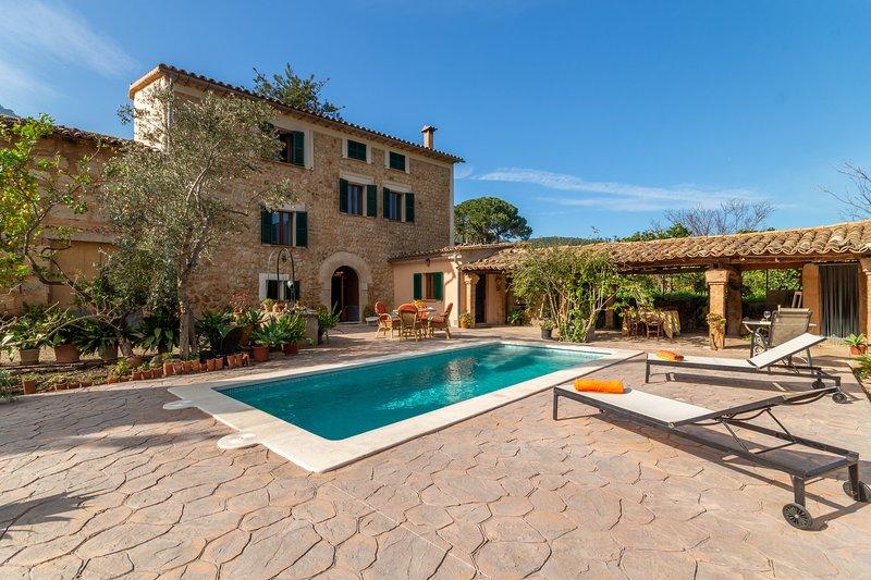 Sa Frontera, Finca 5StarsHome Mallorca, holiday rental in Llucalcari