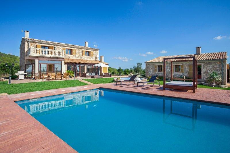 Son Fergut, Finca 5StarsHome Mallorca, holiday rental in Sa Pobla