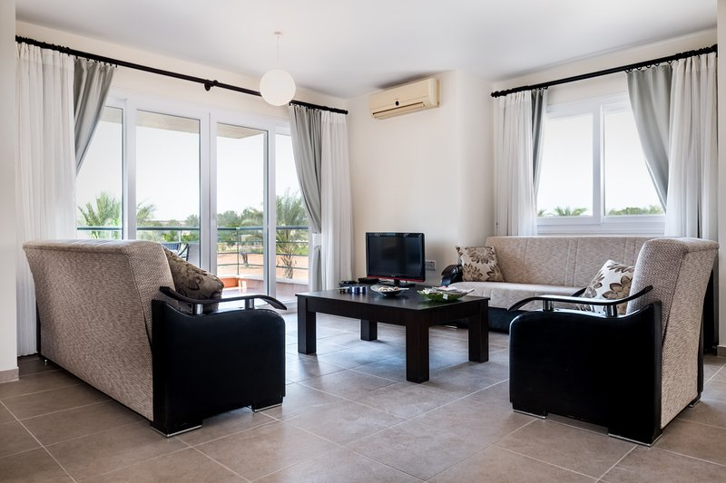 Hexocean Apartment with Sea View, alquiler vacacional en Galatia