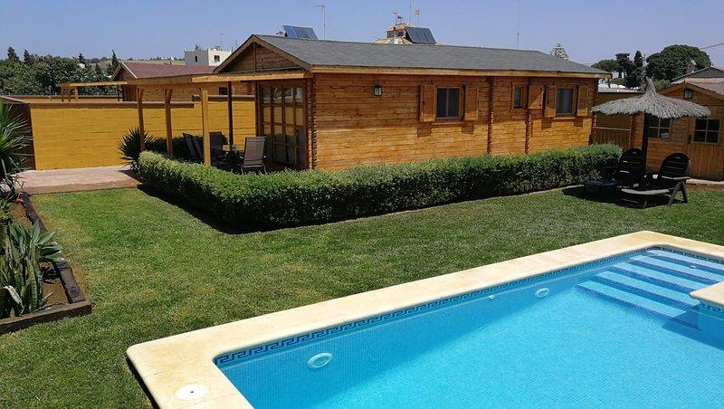 LA  CABAÑA 1, holiday rental in Conil de la Frontera