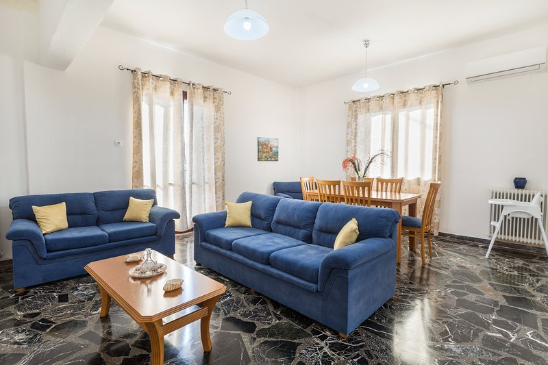 Stavroula's Apartment in Ag.Marina, holiday rental in Nea Kydonia