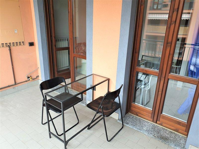 balcone vista interno
