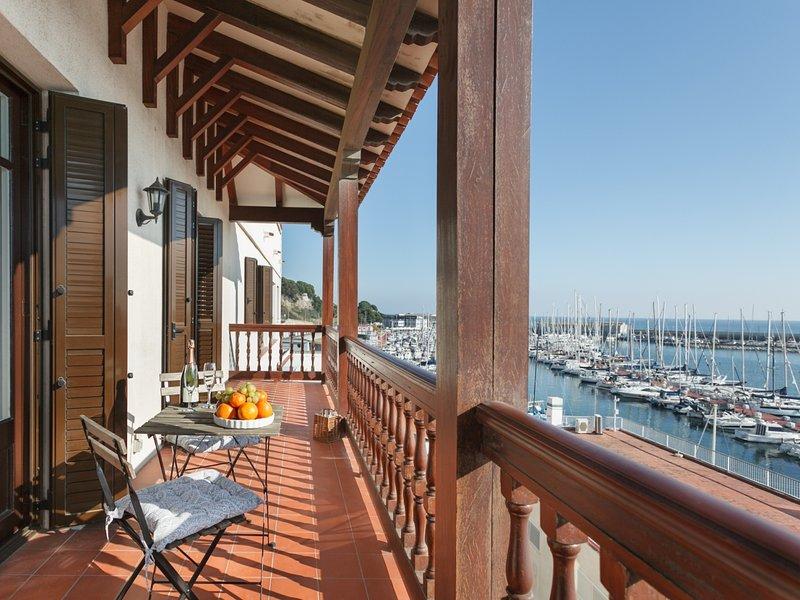 Near Barcelona 40 km from Barcelona. Arenyslux1, alquiler de vacaciones en Arenys de Mar