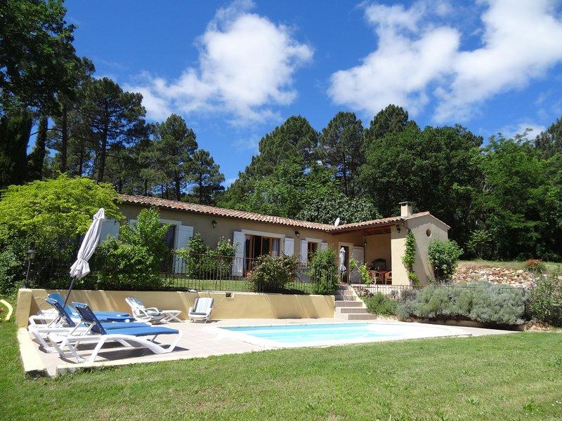 Villa les Vignes, holiday rental in Roussillon