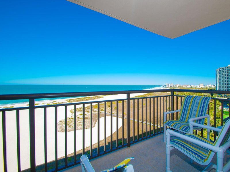 Beautiful Gulf of Mexico view from the living room