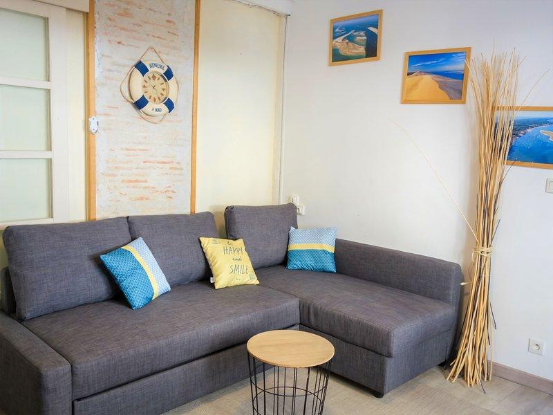 Bleu Bassin, vacation rental in Arcachon