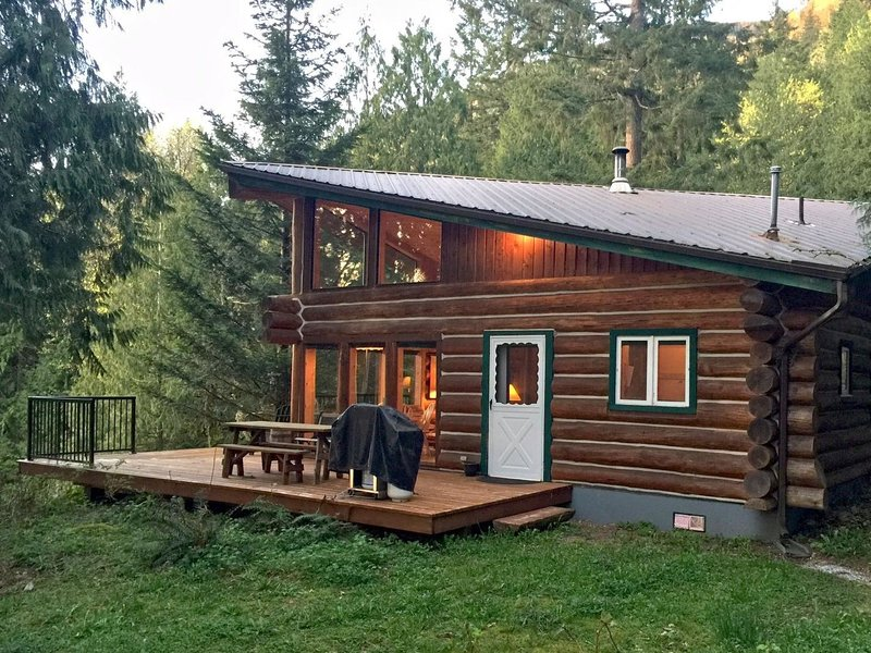 97MF Lakefront Cabin w/Private Dock, holiday rental in Chilliwack