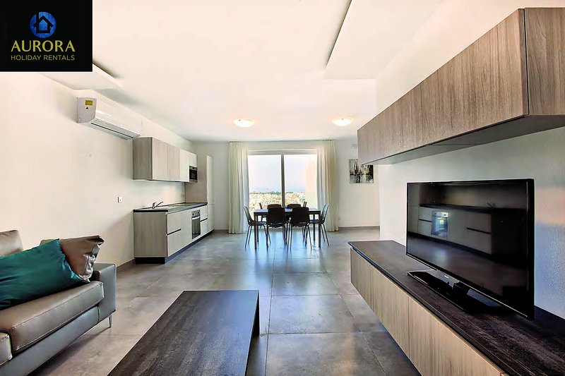 Aurora Apt. 6 - A Higher Quality of Holiday Living, vacation rental in San Gwann
