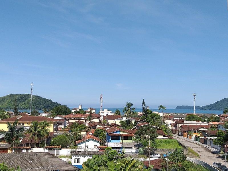 APARTAMENTO COM LINDA VISTA PARA O MAR EM UBATUBA - PET FRIENDLY, vacation rental in Ubatuba