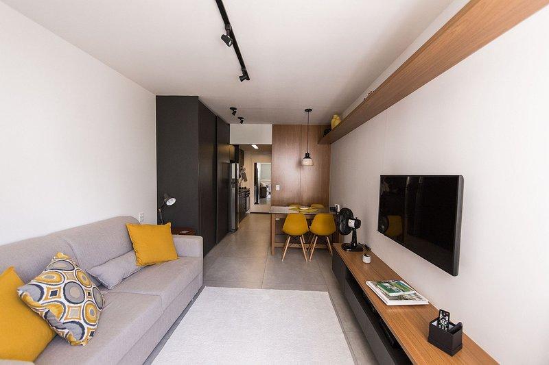 Studio moderno e prático na região dos jardins, Ferienwohnung in São Paulo