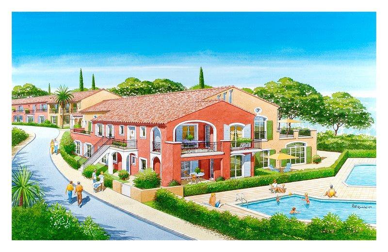 Les terrasses de Cogolin - near Saint-Tropez, holiday rental in Cogolin