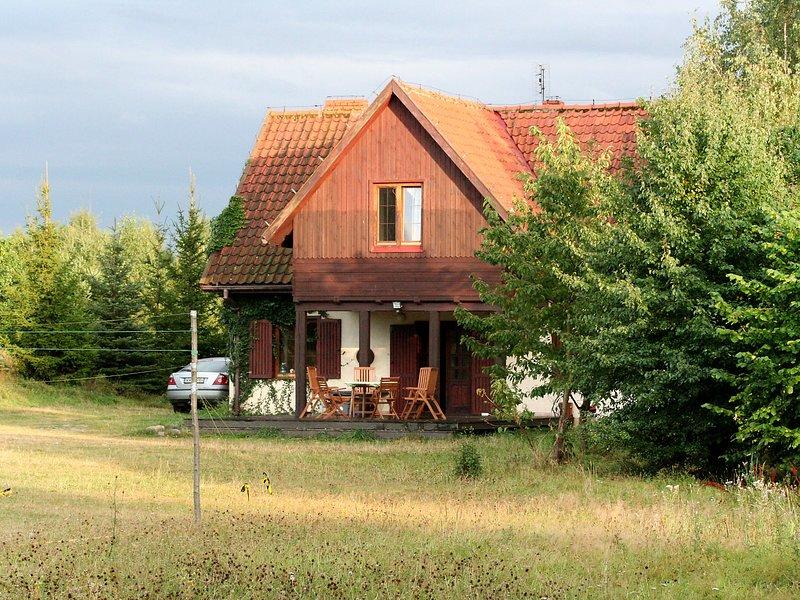 Ostrów Wielki, holiday rental in Kretowiny