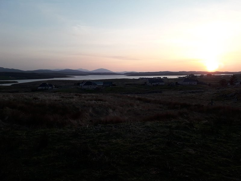 Harris View Sunset