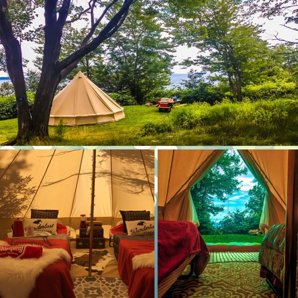 East Coast Glamping Inc. Luxury camping holidays in Nova Scotia, location de vacances à Mahone Bay