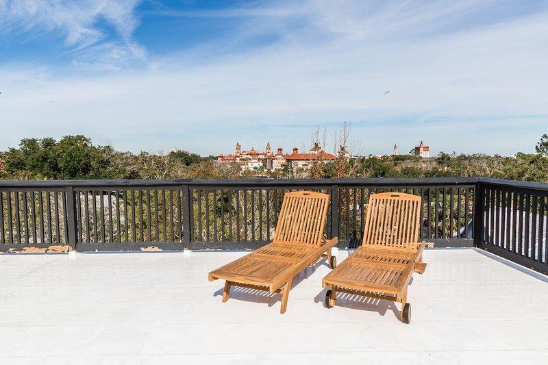 Vista mozzafiato a 360 gradi della storica Saint Augustine!