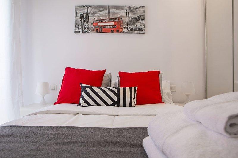 Bett 1 mit Doppelbett