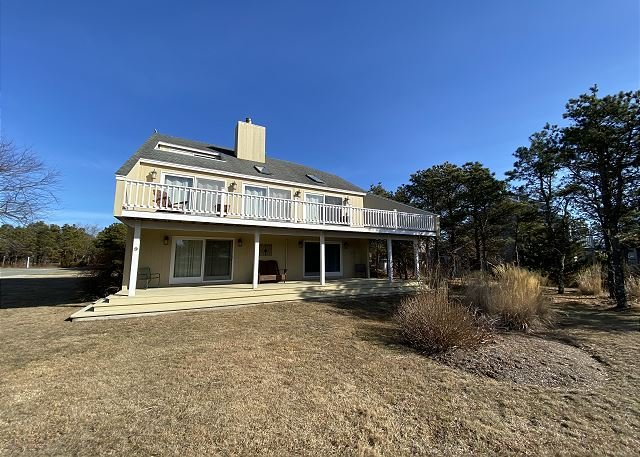 Located less than a mile from South Beach in an attractive neighborhood, holiday rental in Edgartown