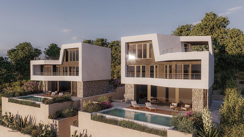 Beautiful Villa Monachus I, with a Pool – semesterbostad i Brela