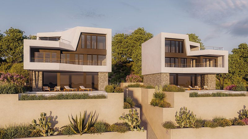 Beautiful Villa Monachus II, with a Pool, alquiler de vacaciones en Brela