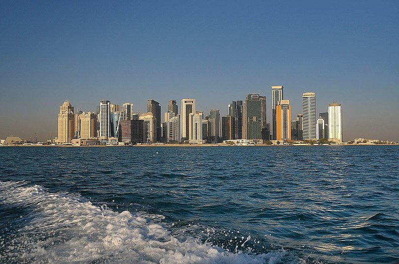 EXPANSIVE 1 BR NEAR DECC IN WEST BAY, DOHA, vacation rental in Doha