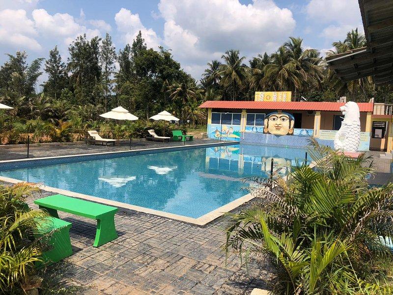Coorg Cloud 9 Resort, holiday rental in Kushalnagar
