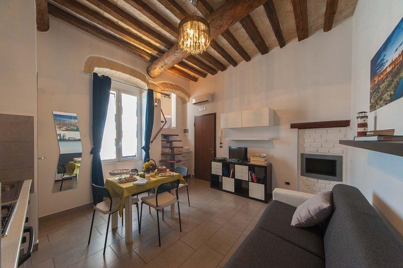 Beautiful apartment near the beach, holiday rental in Trani