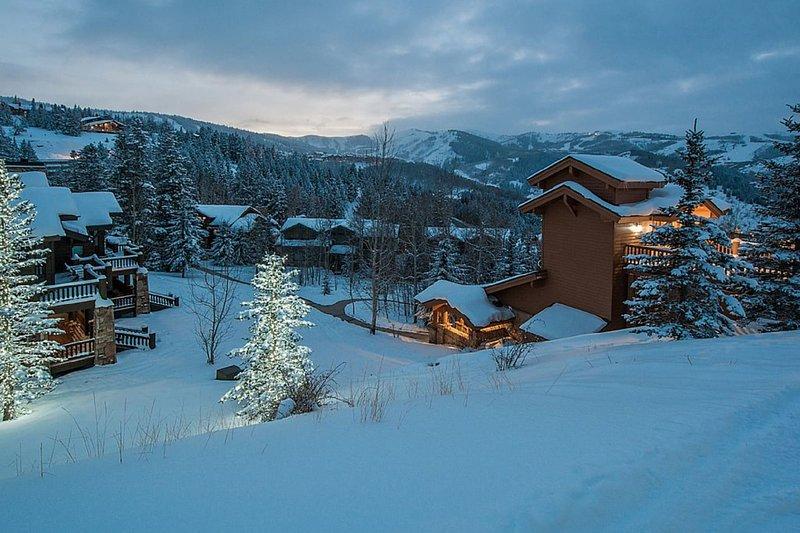Silver Dollar Ski Run på Deer Valley Resort