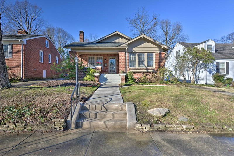 Your stay in Greensboro will be made complete with this vintage cottage!