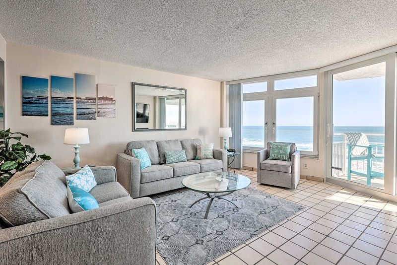 NEW! Ocean Lover's Dream - Steps to Daytona Beach!, vacation rental in Ponce Inlet