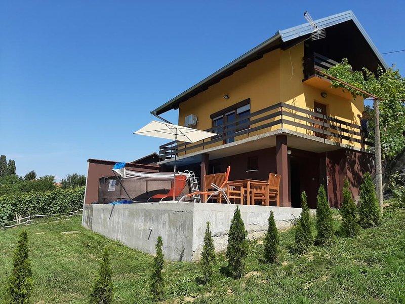 Two bedroom house Dragoslavec, Medimurje (K-18095), holiday rental in Strigova