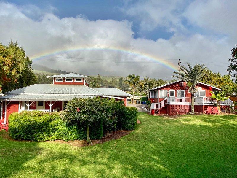 Red 'Ohana 2 BD above Mauna Kea and Hapuna Beaches in the Town of Waimea, holiday rental in Kapaau