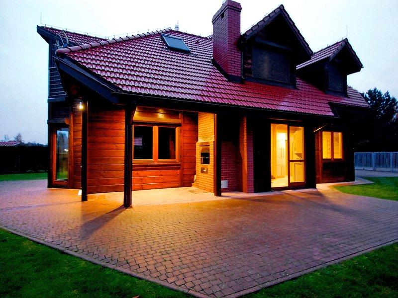 Drewniany z bala, location de vacances à Chlapowo