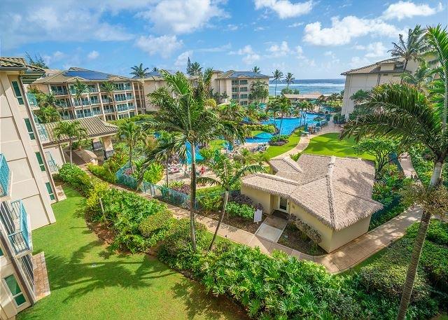 Penthouse Ocean view 1bdr/2bath Suite, vacation rental in Kapaa