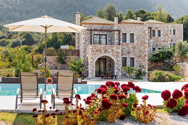 Salakos villas - Lemon Tree Villa, casa vacanza a Kamiros Scala