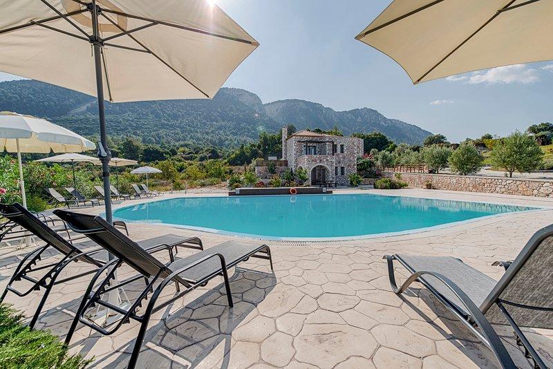 Salakos Villas - Orange Villa, casa vacanza a Kamiros Scala