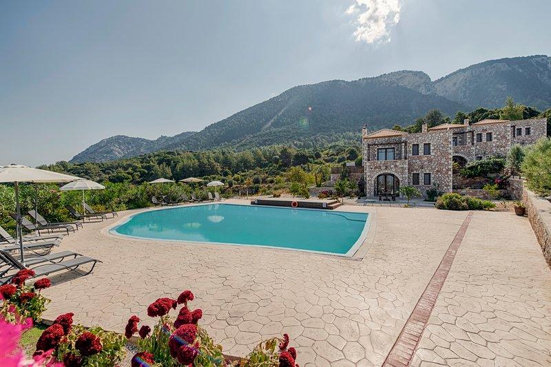 Salakos Villas - Mandarine Villa, casa vacanza a Kamiros Scala