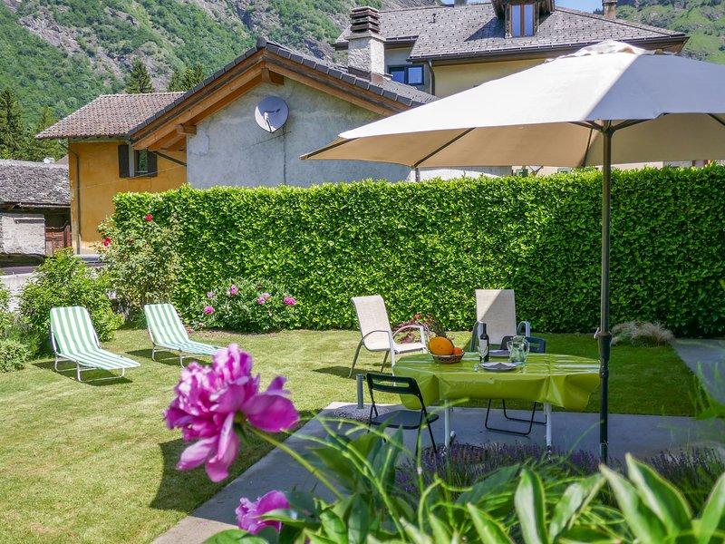 Casa Solario, alquiler de vacaciones en Olivone
