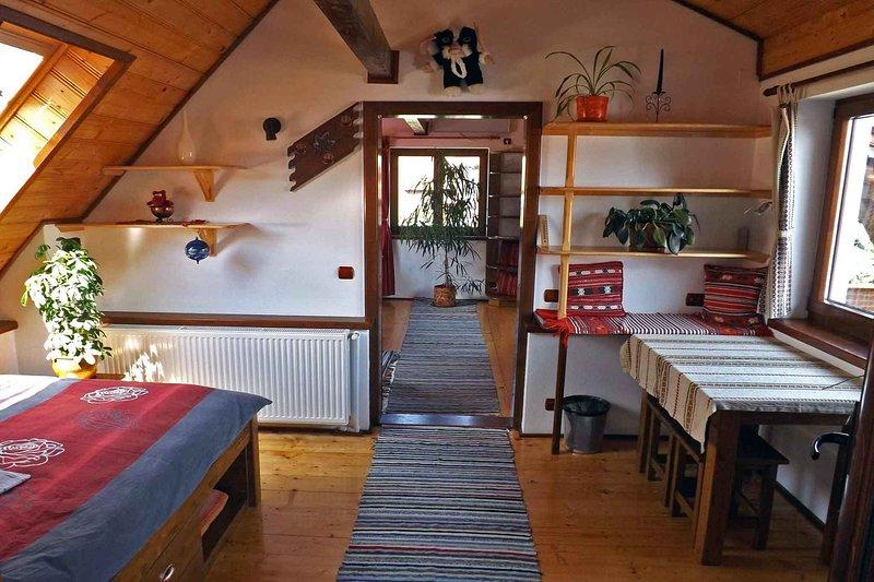 Casa Pelu • maison de campagne dans un village des Carpates près de Sibiu • vacances en famille Transylvanie Roumanie